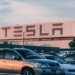 ELECTRIC VEHICLE MANUFACTURES TESLA